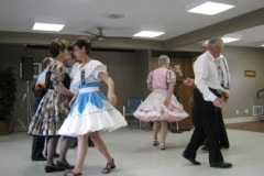 Square Dancers Come for a Visit